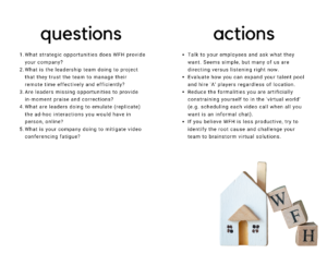 Work From Home Questions and Answers